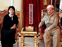 Leyla Zana'dan Barzani'ye sürpriz ziyaret