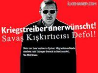 Alman gazetesinden Erdoğan için Türkçe 'defol' manşeti