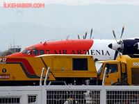 Ermenistan uçağı Halep'e gitti