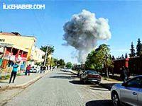 Esad'ın jetleri sınıra bomba yağdırdı