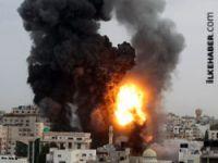 İsrail Hamas hükümet binasına saldırdı