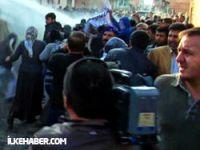 BDP'li vekillere biber gazı