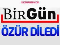 Birgün Gazetesi Erdoğan manşeti için özür diledi