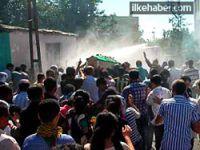 PKK'lilerin cenaze törenine müdahale!