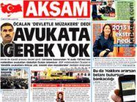 Öcalan'ın avukatları Akşam'ı yalanladı