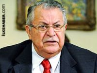 HDP- DBP-DTK heyeti Talabani ile görüştü