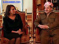 DTK heyeti Mesut Barzani ile görüştü
