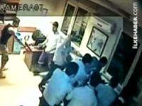 Video Polis şiddeti kameralara yansıdı