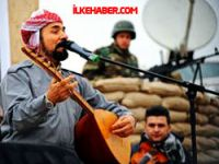 Şivan Perwer'den Peşmergeye moral konseri
