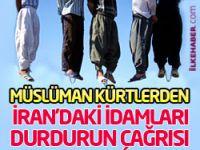 Müslüman Kürtlerden İran'daki idamları durdurun çağrısı