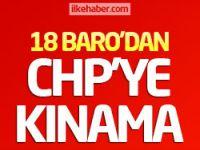 18 Baro'dan CHP'ye kınama!