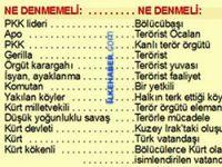 Polisten TRT diline 'Kürt ve PKK' ayarı