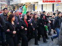 Diyarbakır'da ilk kez izinli protesto