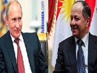 Barzani, Putin ile görüştü