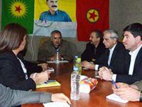 İşte BDP-DTK heyetinin Kandil'de PKK ile buluşma anı