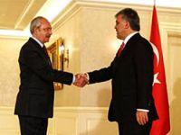 Gül'le görüşen Kılıçdaroğlu'ndan açıklama