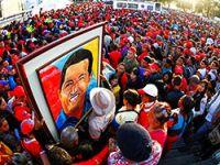 Hugo Chavez'i milyonlar uğurladı