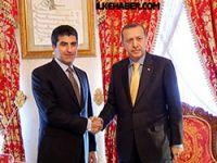 Erdoğan ile Neçirvan Barzani 2 saat görüştü