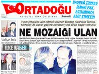 MHP'nin gazetesinden Şahin'e: 'NE MOZAİĞİ ULAN'