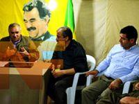 BDP heyetinin KCK'li yetkililerle yaptığı görüşmeden kareler