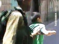 İsrail askerleri Filistinli çocukları böyle tutukladı