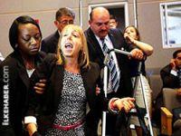 Obama'yı susturan kadın...