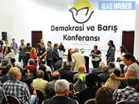 'Demokrasi ve Barış Konferansı' Ankara'da başladı