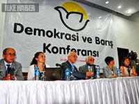 Demokrasi ve Barış Konferansı sona erdi