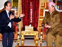 Barzani Baydemir'i kabul etti