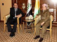 Barzani, Maliki ile görüştü