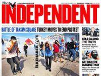 Dünya basını Taksim'i manşetten verdi