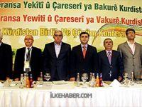 Kuzey Kürdistan Konferansı'dan ilk açıklamalar