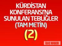 Özgürlük ve Sosyalizm Partisi Genel Başkanı Sinan Çiftyürek'in tebliği