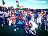 Güney Kürdistan Milli Takımı Fransa'da şampiyon oldu