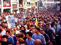 Taksim'de Lice protestosu