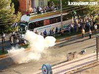 Diyarbakır'daki BDP yürüyüşüne polis müdahalesi