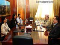 Barzani Rojava heyeti ile görüştü