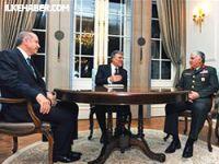 Gül, Erdoğan ve Özel Köşk'te buluştu