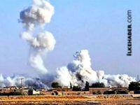 Tel Abyad'da şiddetli patlama meydana geldi