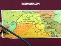 MHP'yi çıldırtan harita