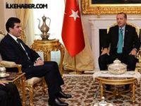 Barzani Erdoğan'la görüştü
