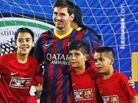Barcelona takımı Filistin'de