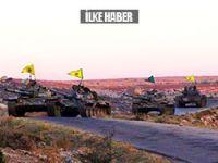YPG'nin tank sayısı 6 oldu