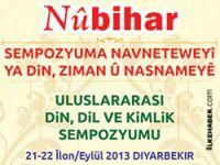 Nûbihar uluslararası sempozyum düzenliyor