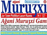 Türkiye'nin ilk lazca gazetesi çıktı
