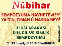 Nûbihar dergisi  'Uluslararası Din, Dil ve Kimlik Sempozyumu' sonuç bildirgesi