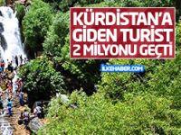 Federal Kürdistan'a giden turist sayısı 2 milyonu geçti