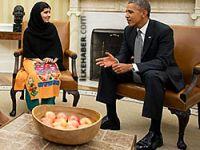 Obama ve eşi, Pakistanlı Malala'yı kabul etti