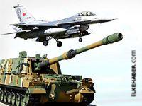 TSK'den Suriye'deki El Kaide mevzilerine top ateşi
