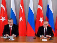 Erdoğan ve Putin Suriye'yi görüştü